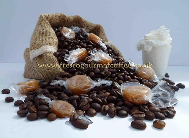 Flavoured Coffee Butterscotch cream