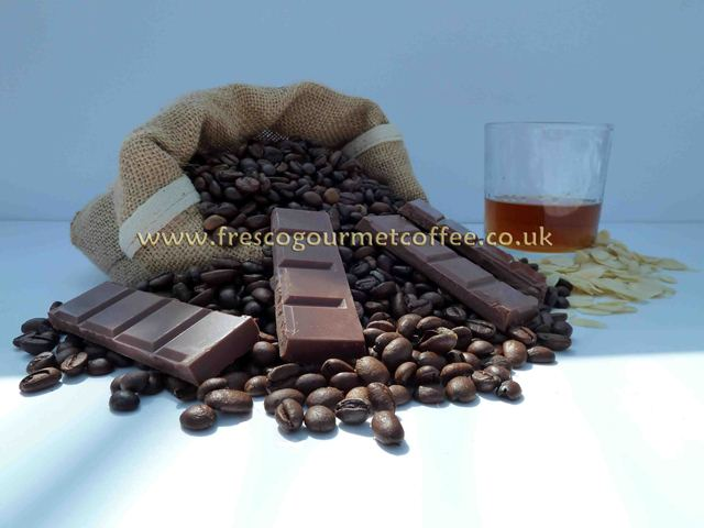 Flavoured Coffee Amaretto and Chocolate