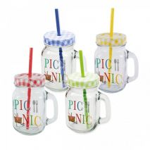 Party Tumbler Summer Picnic Set of 4 (Item ID:2586)