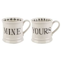 Mine and Yours Tankard Mugs Set of 2 (Item ID:5199923)