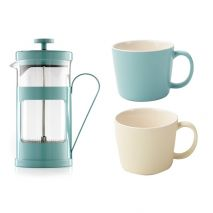 La Cafetiere Retro Blue Coffee Gift Set (Item ID:5187795)