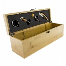 5 Piece Wine Set Wooden Case (Item ID:2421)