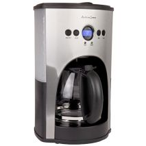 Andrew James Digital Coffee Maker (Silver) (Item ID:AJ-2OO7CH)