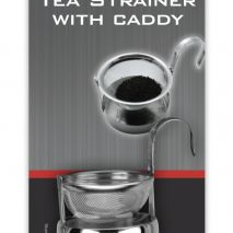 Tea Strainer with Caddy (Item ID:3802/C)